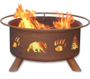 OUTDOOR WOOD BURNING FIRE PIT GRILLS - Free Shipping